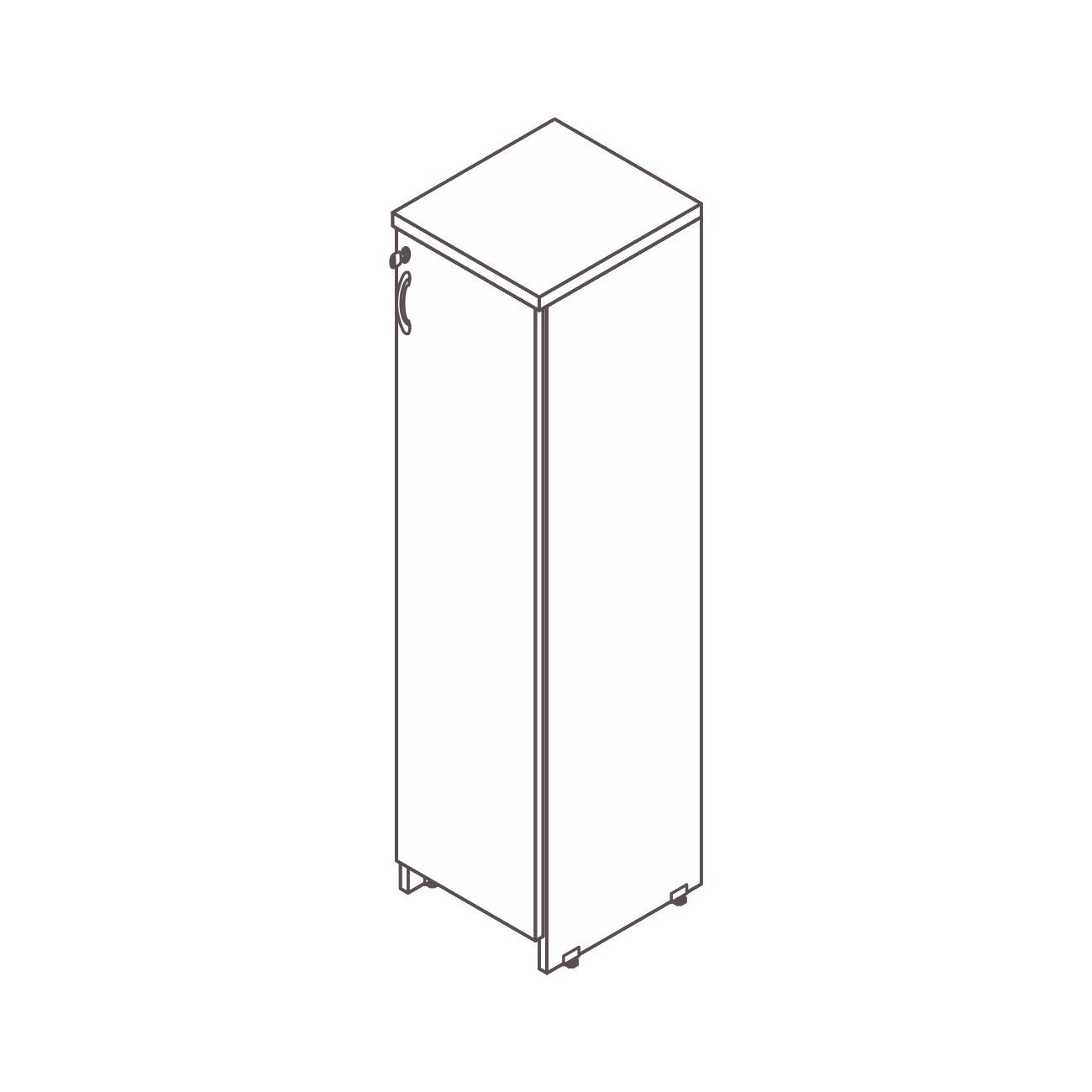 Armário diretor 1 porta safira