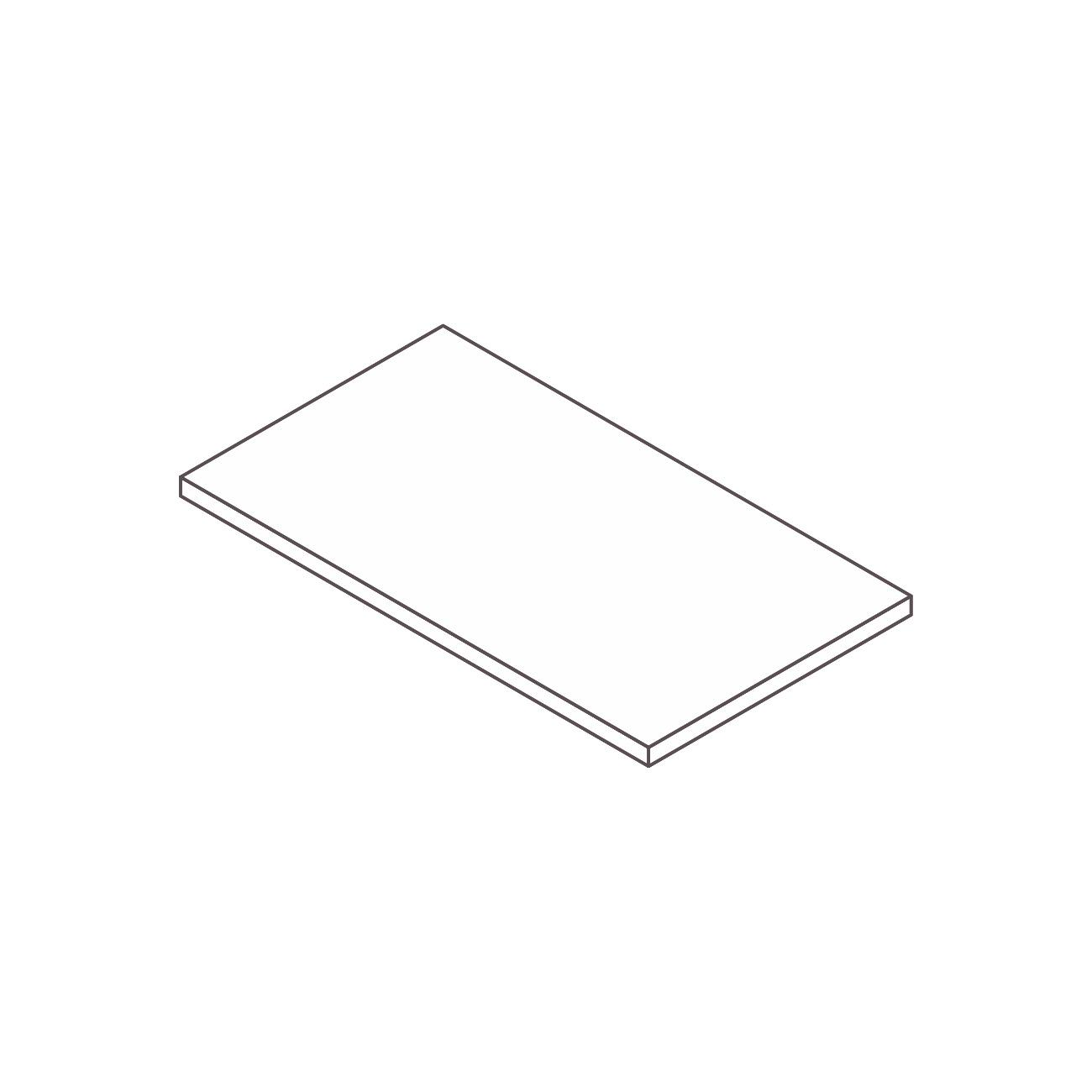 Conexão quadrada safira