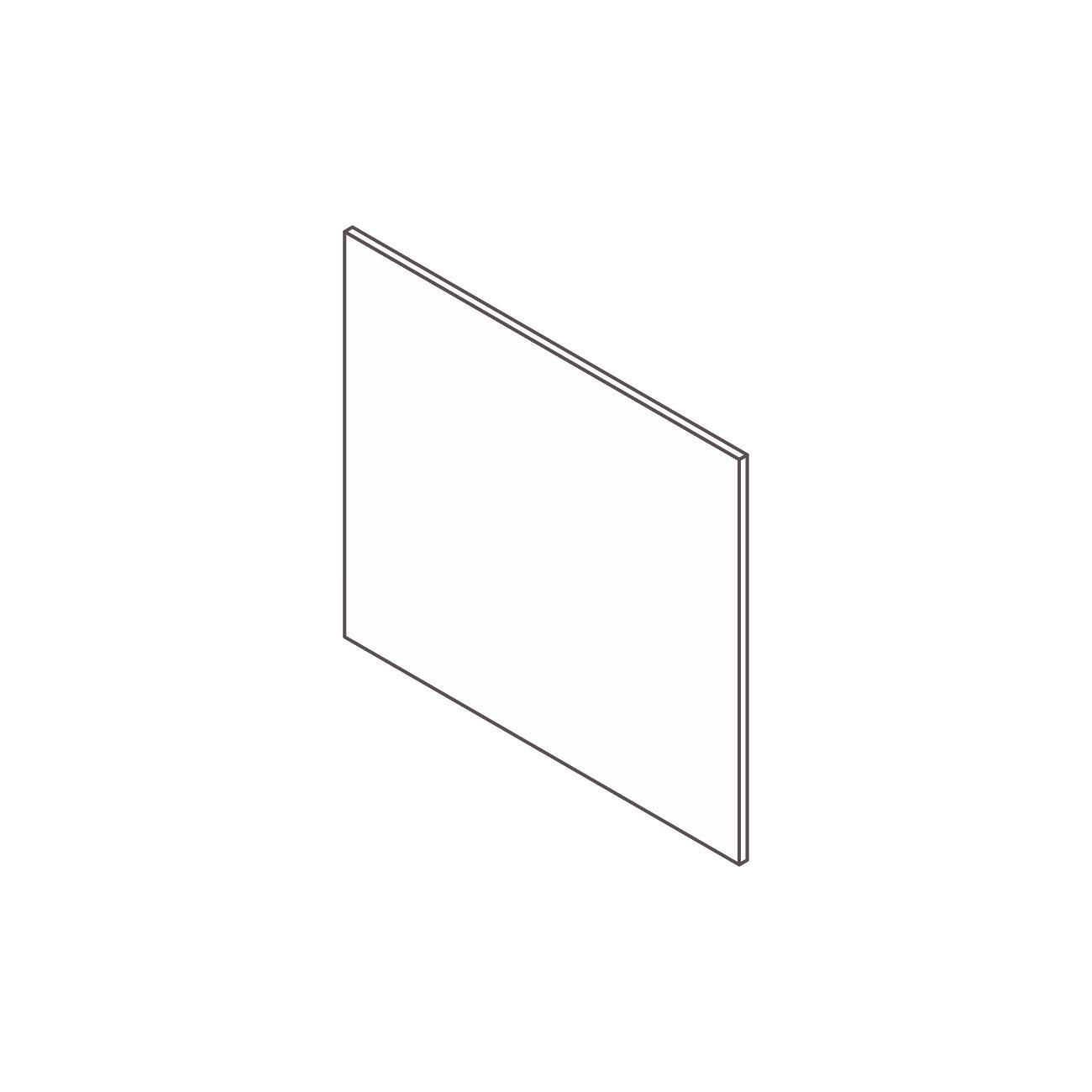 Painel frontal superior cabine telemarketing diamante